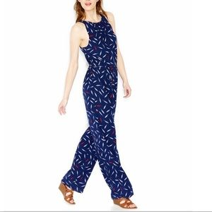 Maison Jules XXL feather printed Jumpsuit